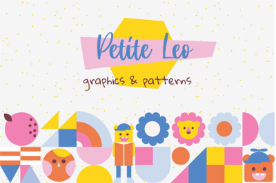 Petite Leo - Graphics and Patterns