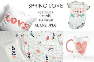 Spring love collection