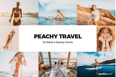 20  Peachy Travel LR Presets