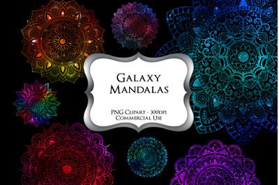 Galaxy Mandalas PNG Clipart