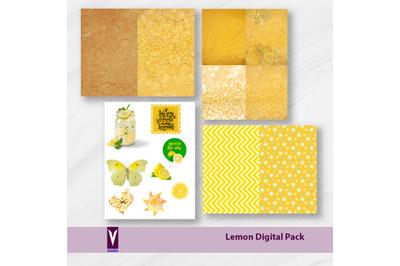 Lemon Digi Pack