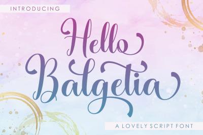 Hello Balgetia
