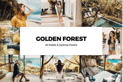 20  Golden Forest LR Presets