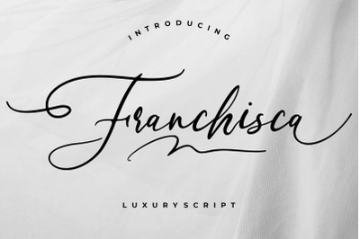 Franchisca Luxury Script