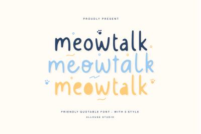 Meowtalk