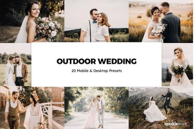 20  Outdoor Wedding LR Presets