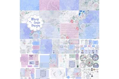 """Timeless"" Printable Journal Kit with Ephemera"