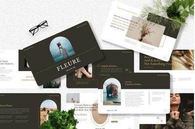 Fleure - Fashion Keynote Template