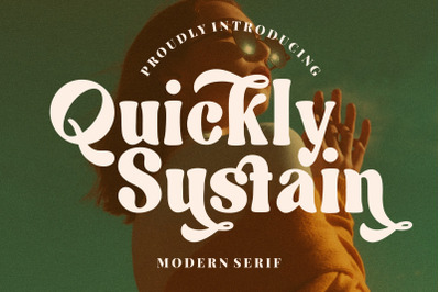 Quickly Sustain Modern Serif