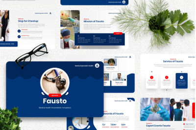 Fausto - Medical Powerpoint Template