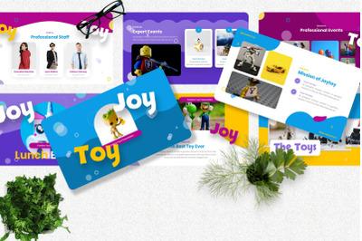Joytoy - Kids Toy Googleslide Templates