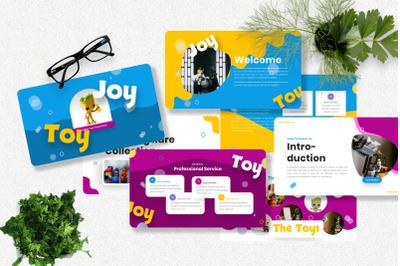 Joytoy - Kids Toy Powerpoint Templates