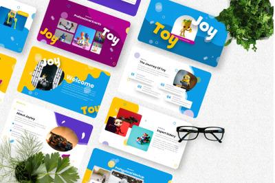 Joytoy - Kids Toy Keynote Templates