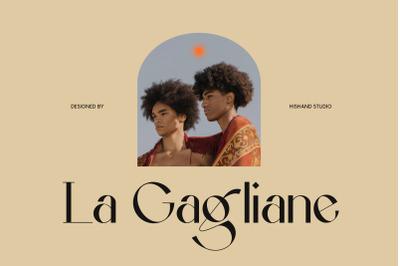 La Gagliane Classic Modern Typeface