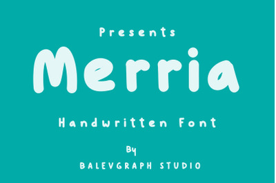 Merria Comic Font
