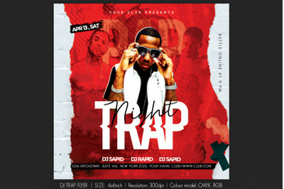 Dj Trap Flyer