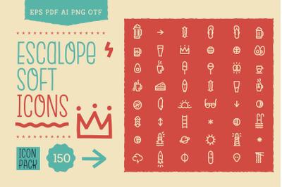 Escalope Soft Icons