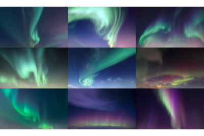 Northern Lights Aurora Borealis Sky Replacement