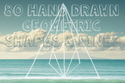 80 Geometric shapes&lines