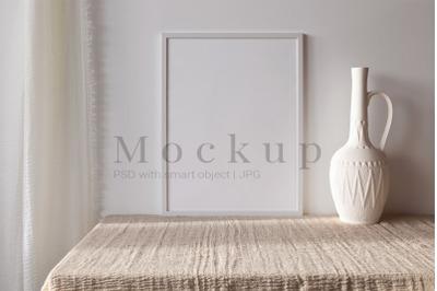 Photo Frame Mockup,Poster Mockup