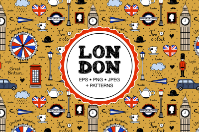 London Illustrations and Patterns