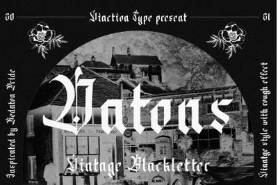 Datons - Blackletter