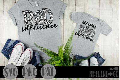 Bad Influence, SVG, Matching