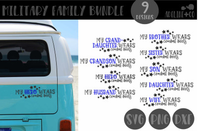 Military Family Bundle, SVG