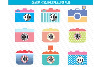 Camera SVG, Camera dxf, Camera clipart, Camera vector