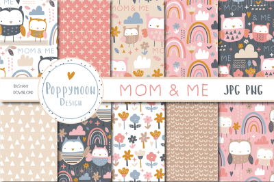 Mom & Me paper set