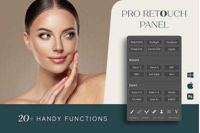 Pro Retouch Panel for Photoshop