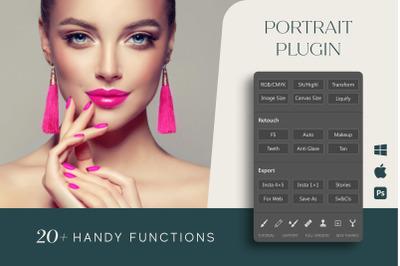 Portrait Plugin for Photoshop