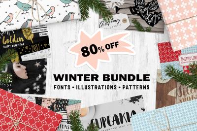 The Winter Bundle 80% OFF