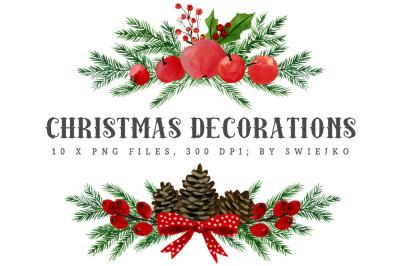 Christmas Decorations - bouquetes