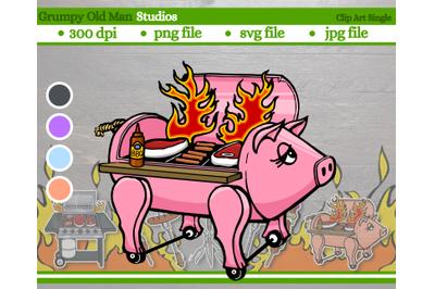 hog smoker grill
