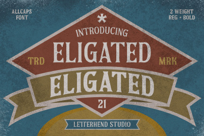 Eligated - Serif Display Font