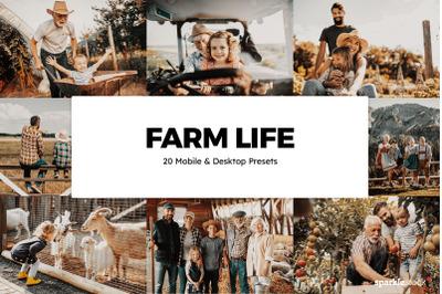 20 Farm Life Lightroom Presets & LUTs