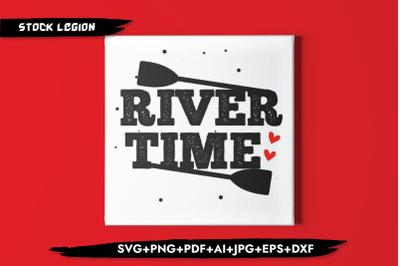River Time SVG