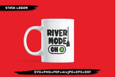 River Mode On SVG