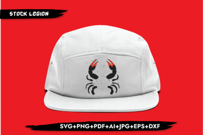 Half Crab SVG