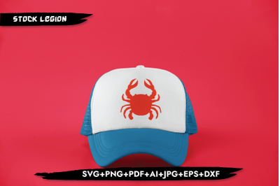 Red Crab SVG