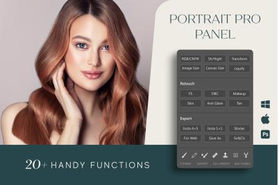 Portrait Pro Panel for Photoshop