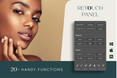 Retouch Panel for Adobe Photoshop