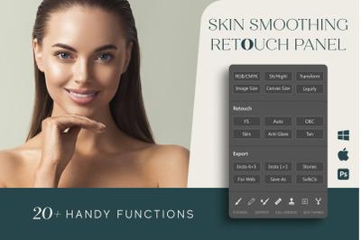 Skin Smoothing Panel for Photoshop