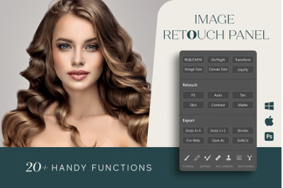 Image Retouch Panel for Photoshop