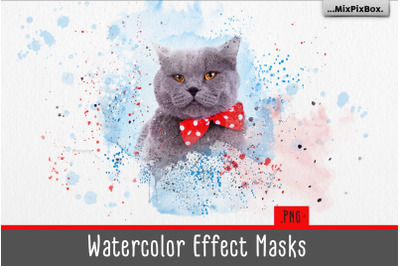 Watercolor Effect Masks