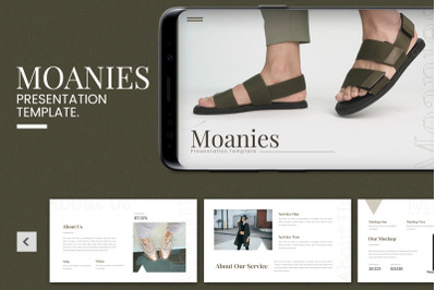 Moanies - Power Point Template