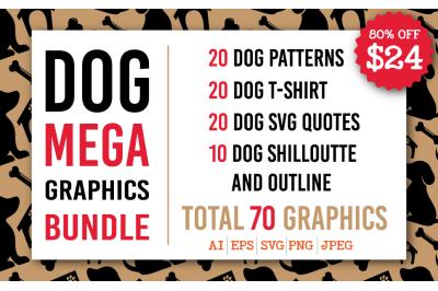 Dog Mega Graphics Bundle