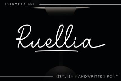 Ruellia - Script Font