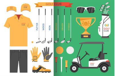 Golf club, golf